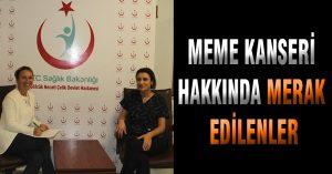 MEME KANSERİ HAKKINDA MERAK EDİLENLER