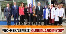 """""""KO-MEK'LER BİZİ GURURLANDIRIYOR"""""""