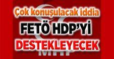 FETÖ'CÜLER EV EV GEZİP HDP'YE OY İSTİYOR