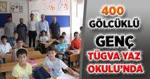 400 GÖLCÜKLÜ GENÇ TÜGVA YAZ OKULU'NDA EĞİTİMDE