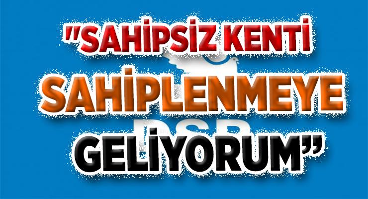 """GARİPOĞLU SİYASETTE """"BENDE VARIM"""" DEDİ"""