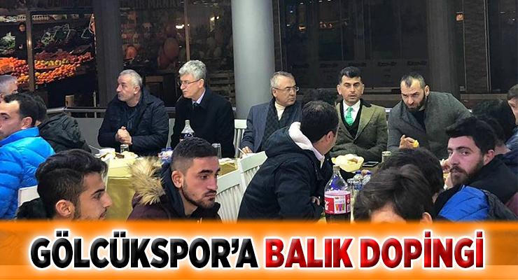 GÖLCÜKSPOR'A BALIK DOPİNGİ