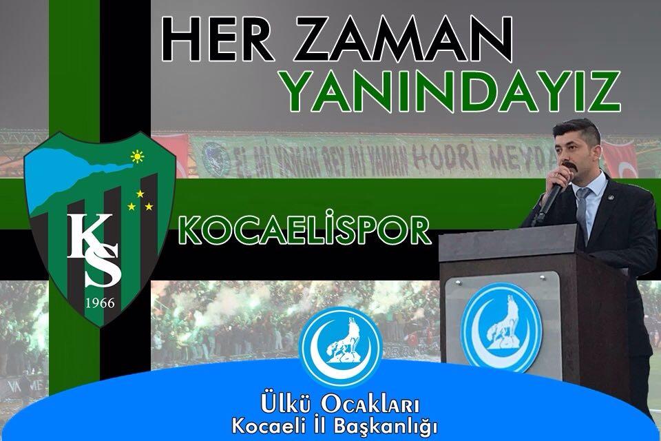 ÜLKÜCÜLER'DEN KOCAELİSPOR'A TAM DESTEK