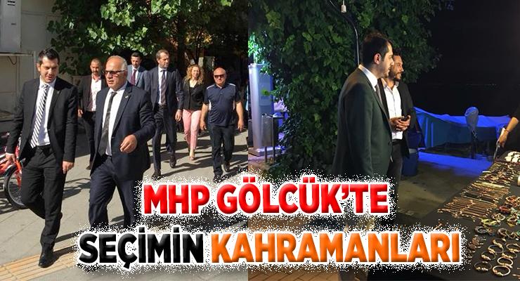 MHP GÖLCÜK'TE SEÇİMİN KAHRAMANLARI