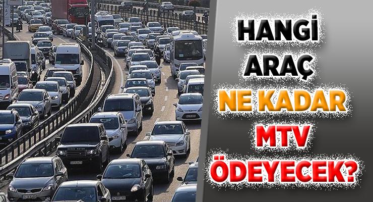 MTV 2.TAKSİT ÖDEMELERİ BAŞLADI (Hangi araç ne kadar MTV borcu ödeyecek?)