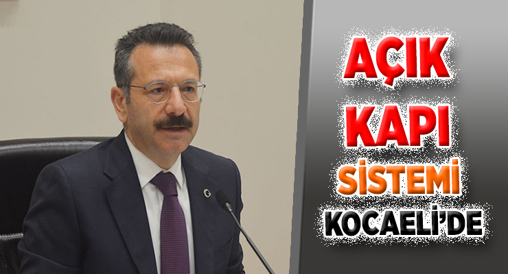 AÇIK KAPI SİSTEMİ KOCAELİ'DE