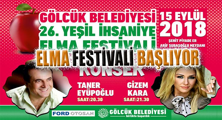 ELMA FESTİVALİ BAŞLIYOR