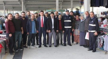 YENİ MAHALLE'DE İLK PAZAR HEYECANI