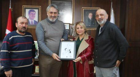 NALBANTOĞLU ve KARATAŞ Murat AYDIN'ı ziyaret etti