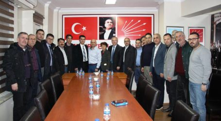 Sime-Sen'den CHP'ye Ziyaret