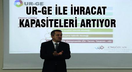 UR-GE İLE İHRACAT KAPASİTELERİ ARTIYOR