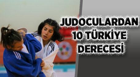 JUDOCULARDAN 10 TÜRKİYE DERECESİ