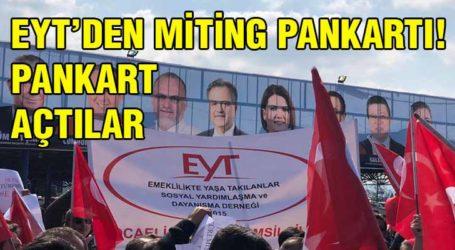 EYT'DEN MİTİNG PANKARTI!