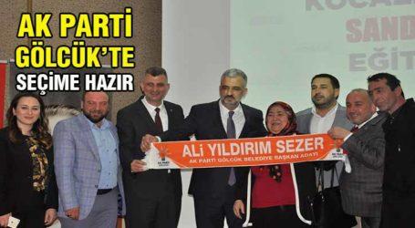 AK Parti Gölcük seçime hazır