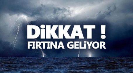FIRTINA GELİYOR..!