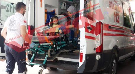 5 yaşındaki çocuğa otomobil çarptı
