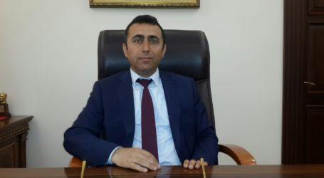 Kaymakam Mustafa Irmak göreve başladı