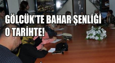 GÖLCÜK'TE BAHAR ŞENLİĞİ O TARİHTE!