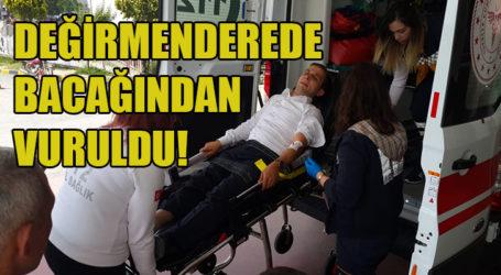 DEĞİRMENDERE'DE VURULDU
