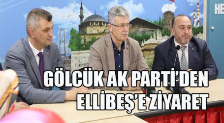 GÖLCÜK AK PARTİ'DEN ELLİBEŞ'E ZİYARET