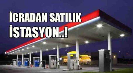 İcradan satılık akaryakıt istasyonu!
