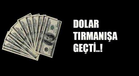 DOLAR TIRMANIŞA GEÇTİ..!
