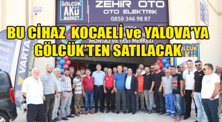 VGT adlı cihaz tüm Kocaeli'ye ve Yalova'ya Gölcük'ten satılacak