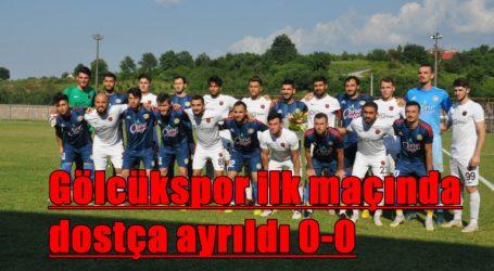 Gölcükspor ilk maçında dostça ayrıldı 0-0