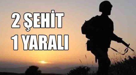 2 ŞEHİT 1 YARALI