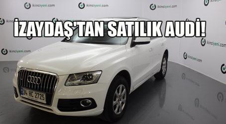 İZAYDAŞ'TAN SATILIK AUDİ!