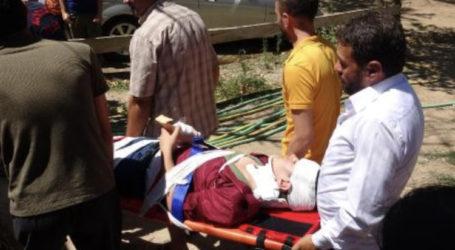 15 yaşındaki çocuk Kayalıklara düştü
