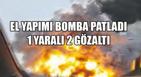 Sukay Park'ta El Yapımı Bomba Patladı! 1 yaralı, 2 gözaltı