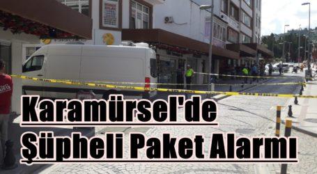 Karamürsel'de Şüpheli Paket Alarmı