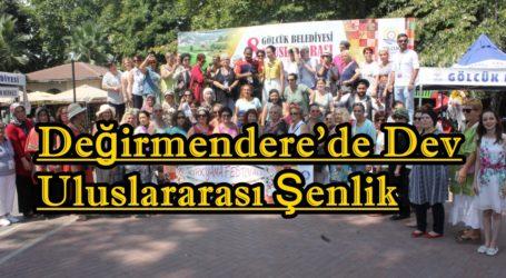 Değirmendere'de Dev Uluslararası Şenlik