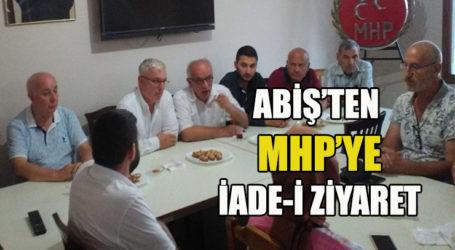 ABİŞ'TEN  MHP'YE İADE-İ ZİYARET