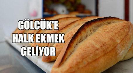 GÖLCÜK'E HALK EKMEK GELİYOR