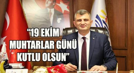 """""""19 EKİM MUHTARLAR GÜNÜ KUTLU OLSUN"""""""