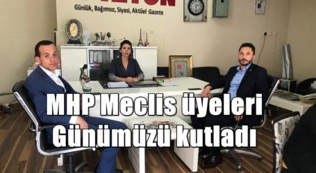 MHP Meclis üyeleri Günümüzü kutladı