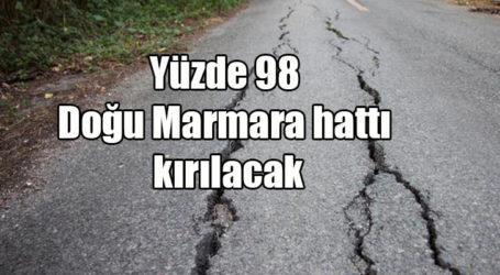 Yüzde 98 Doğu Marmara hattı kırılacak