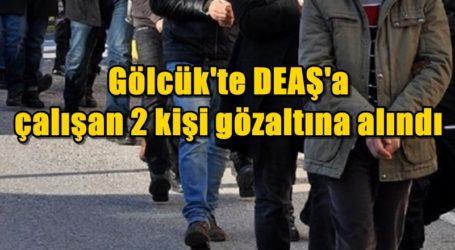 Gölcük'te DEAŞ'a çalışan 2 kişi gözaltına alındı