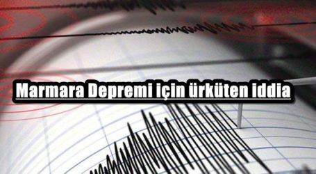 Marmara Depremi için ürküten iddia