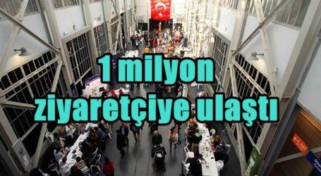 1 milyon ziyaretçiye ulaştı