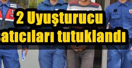 2 Uyuşturucu satıcıları tutuklandı