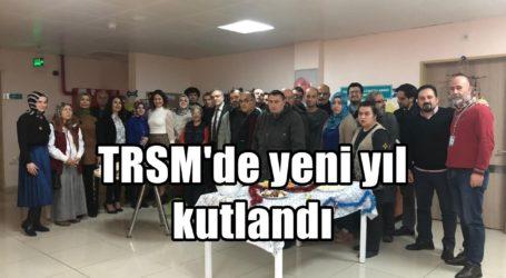 TRSM'de yeni yıl kutlandı