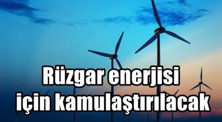 Rüzgar enerjisi için kamulaştırılacak