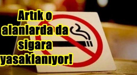 Artık o alanlarda da sigara yasaklanıyor!