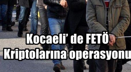 Kocaeli' de FETÖ Kriptolarına operasyonu