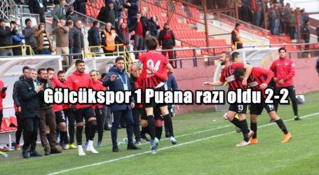 Gölcükspor 1 Puana razı oldu 2-2