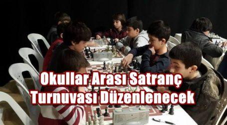 Okullar Arası Satranç Turnuvası Düzenlenecek