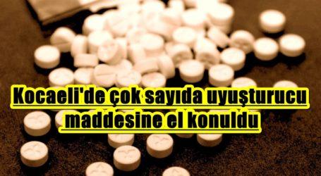 Kocaeli'de çok sayıda uyuşturucu maddesine el konuldu